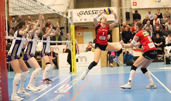 it der sensationellen Wende in der Viertelfinalserie gegen Neuenburg UC hat der VC Kanti etwas unmöglich Scheinendes geschafft. Das dürfte sich in der Halbfinalserie gegen Volero Zürich kaum wiederholen lassenn