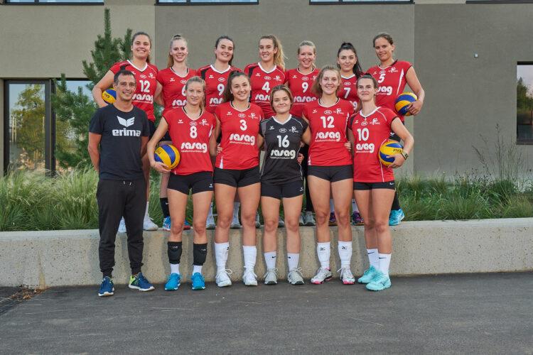 Mannschaftsfotos VC Kanti 2019/20 - 2.Liga
