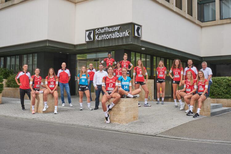Mannschaftsfoto VC Kanti 2019/20